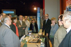 inauguration stand du lycée Delataille de Loches