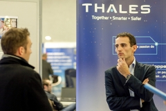 Le stand de Thalès