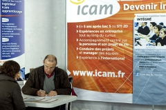 Le stand de l'ICAM